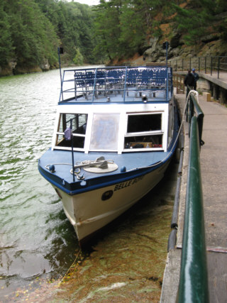 Dells Boat Tours is bringing visitors the first-ever